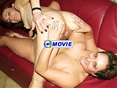 Lesbian grandmas Steph and Julianna get naked and engage in pussy licking in this movie