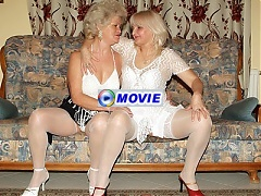 Francesca and Erlene are naughty grandmas joining each other for a kinky lesbian webcam show
